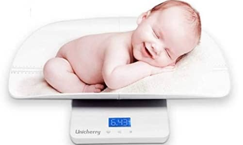Unicherry Baby Scale, Multi-Function Digital Baby Scale