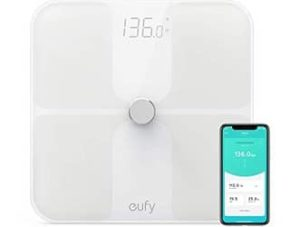 eufy Smart Scale with Bluetooth 4.0, Large LED Display