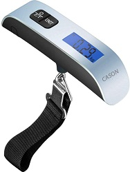 CASON (DEVICE OF C) -ABS 10g to 50 kg Luggage Scale