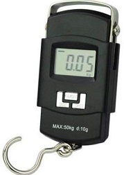 Happen Well Plastic Electronic 50 Kgs Digital Luggage Scale