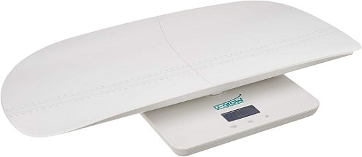 U-Grow 2 in 1 Baby Scale, White