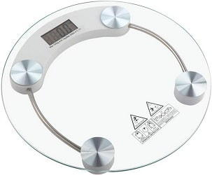 Wisk Electronic Bathroom Health Body Weight Scale