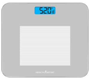 HealthSense Dura-Glass PS 115 Digital Personal Body Weighing Scale, Best Electronic Bathroom Scales